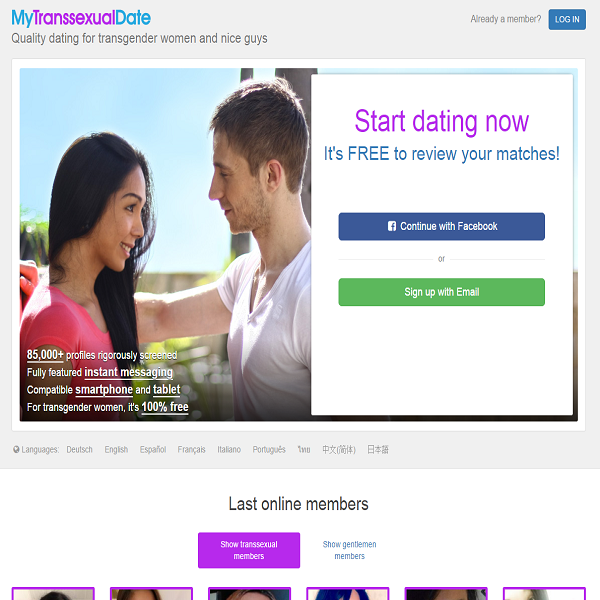 match transgender dating sites